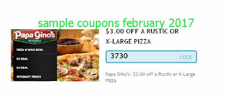 Papa Gino's coupons for february 2017