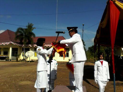 Peringatan HUT RI di Kecamatan Rantau Panjang Meriah