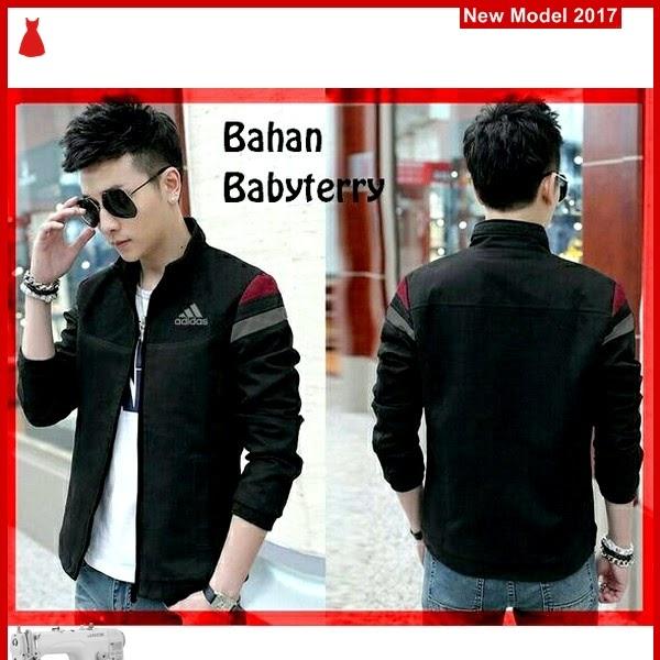 MSF0115 Model Jaket Adidas Murah Black Babyterry BMG