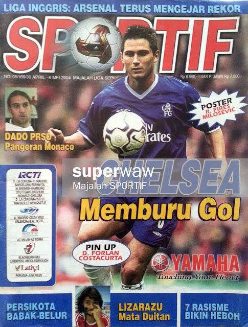 Majalah SPORTIF: CHELSEA Memburu Gol