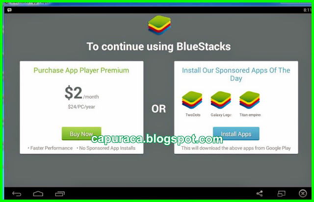 Bluestacks Emulator Android for PC, capuraca.blogspot.com
