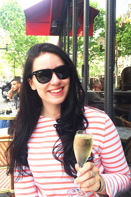 Birthday weekend: champagne and breton stripes - Paris travel & lifestyle blog