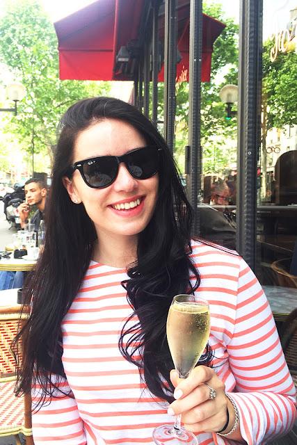 Birthday weekend: champagne and breton stripes - Paris travel & lifestyle blog
