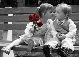 Top latest hd Baby Boy to Girl frist kiss images photos pic wallpaper free download 47