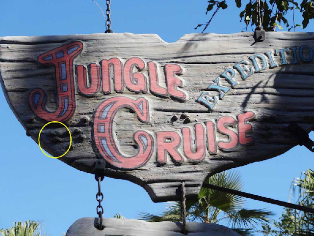 Hidden Mickeys no Jungle Cruise