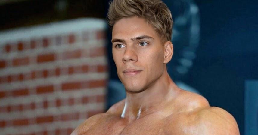 big muscular gay cock