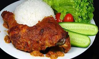Ayam Panggang Pecel Khas Sukabumi