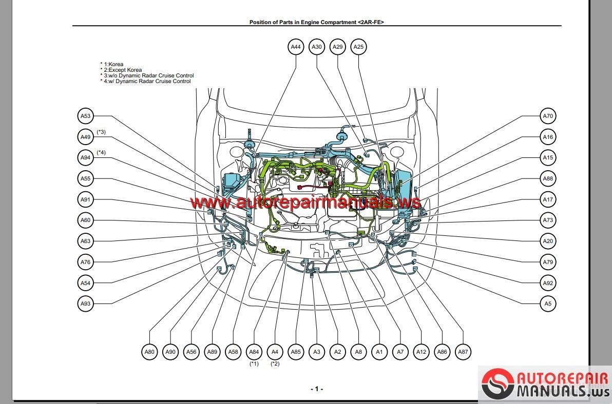auto repair manual toyota camry  workshop manual