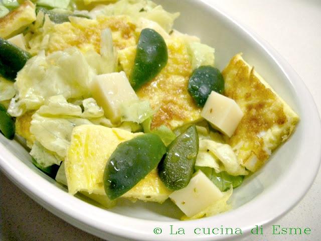 La cucina di esme frittata in insalata - Cucinare olive appena raccolte ...