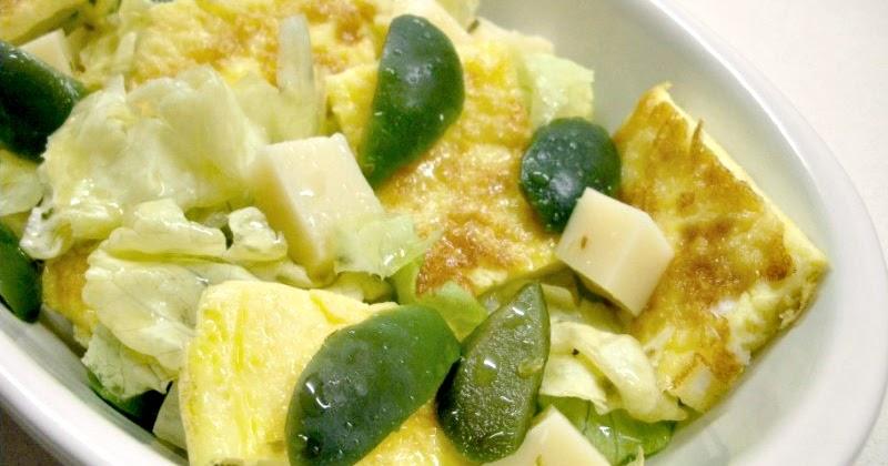 La cucina di esme frittata in insalata - La cucina di esme ...