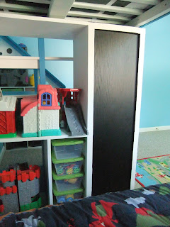 The Elusive Bobbin New Loft Bed And Boys Room Makeover