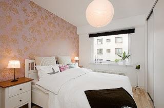 kamar tidur kecil tapi nyaman