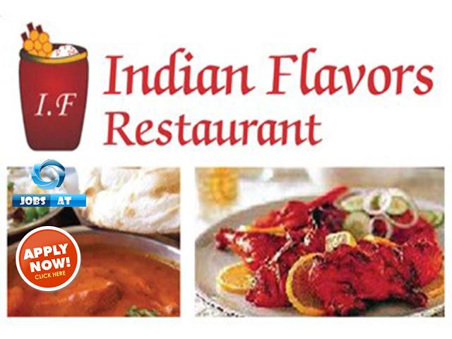 وظائف شاغرة فى مطعم Indian Flavors Restaurant فى السعودية 2019