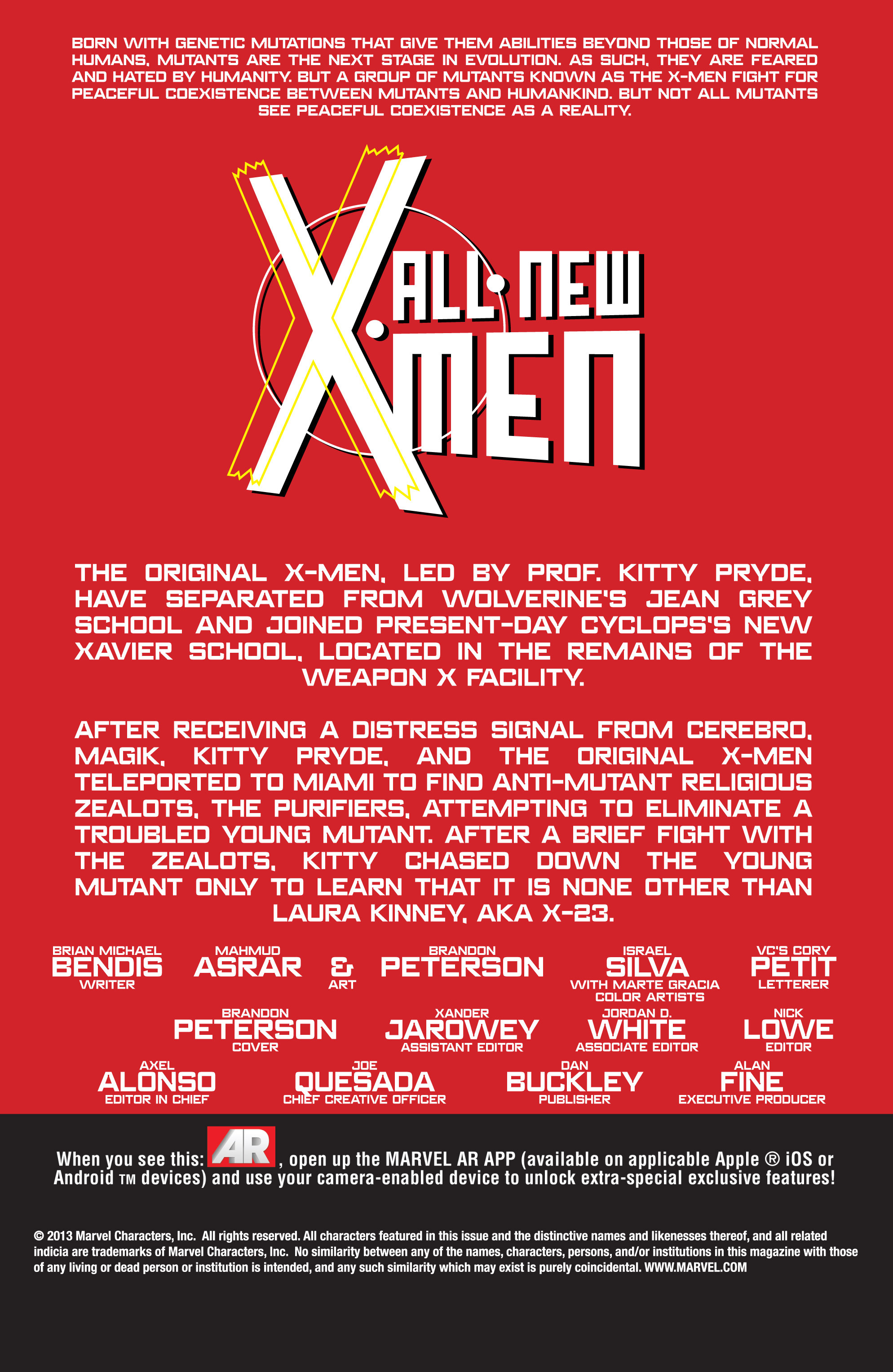 Read online All-New X-Men (2013) comic -  Issue # _Special - All-Different - 42