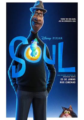 SOUL - Animação da Disney ganha novo trailer e pôster