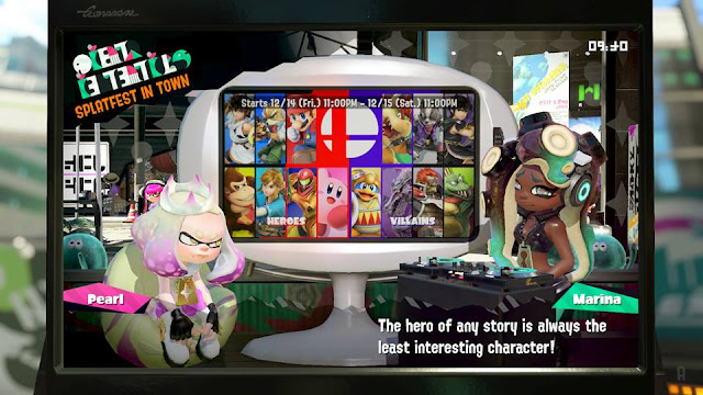 Splatoon 2 Splatfest hero of any story is the least interesting character Marina