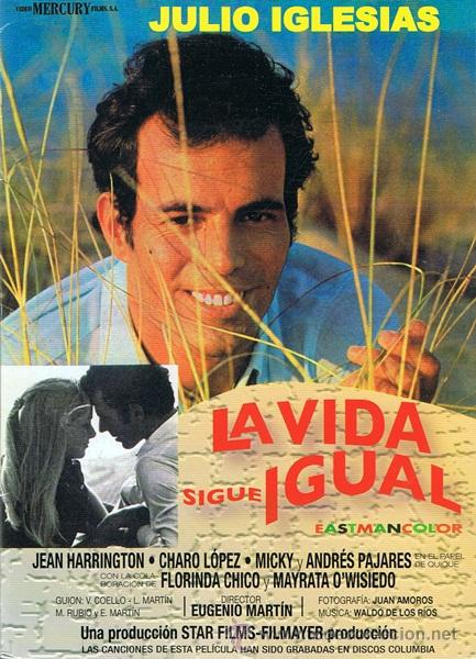 La Vida Sigue Igual (1969)  Español   Película   Mega 