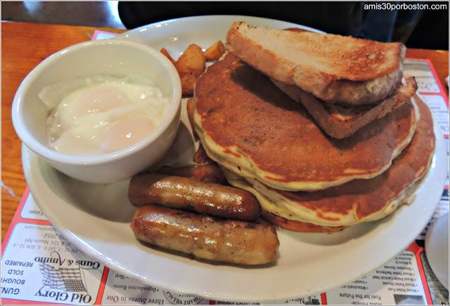 Desayuno The Parker`s Special