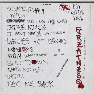 Skepta - Konnichiwa Album tracklist