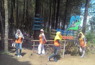Foto Ketiga Di Hutan Pinus Precet, Sumbersuko, Wagir, Malang