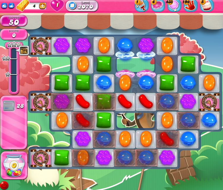 Candy Crush Saga level 2070