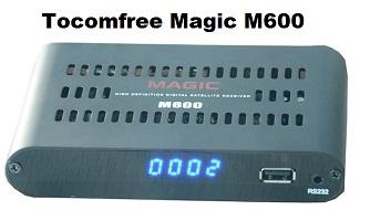 Resultado de imagem para imagem MAGIC M600 HD NOVA ATUALIZAÇÃO V1.3.5 -