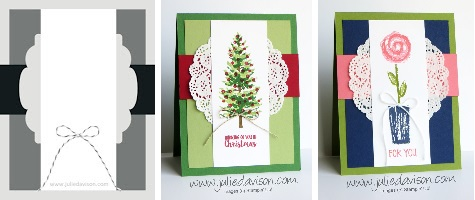 http://juliedavison.blogspot.com/2017/11/two-cards-one-layout.html