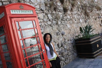 Telephone box in Gibraltar