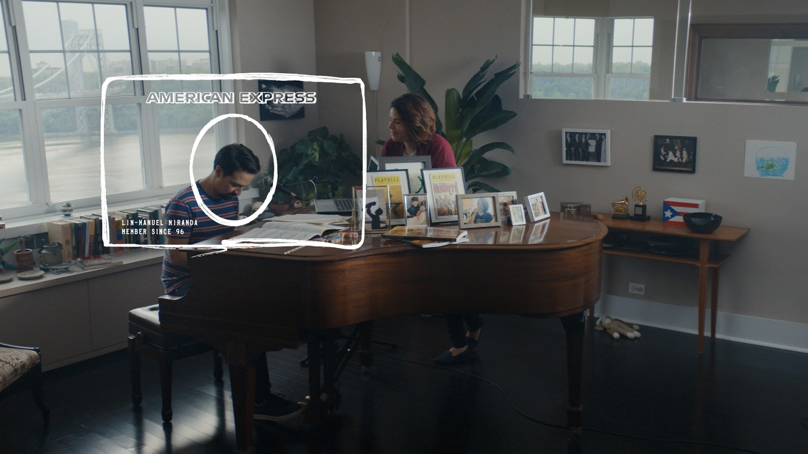Stupendous Amex Debuts New Ad Campaign With Lin Manuel Miranda Adstasher Home Interior And Landscaping Eliaenasavecom