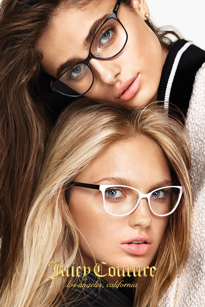 Juicy Couture Fall/Winter 2015 Campaign featuring Taylor Hill and Romee Strijd