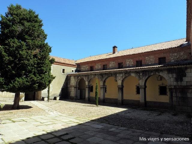 Patio, iglesia, monasterio, el paular, rascafria