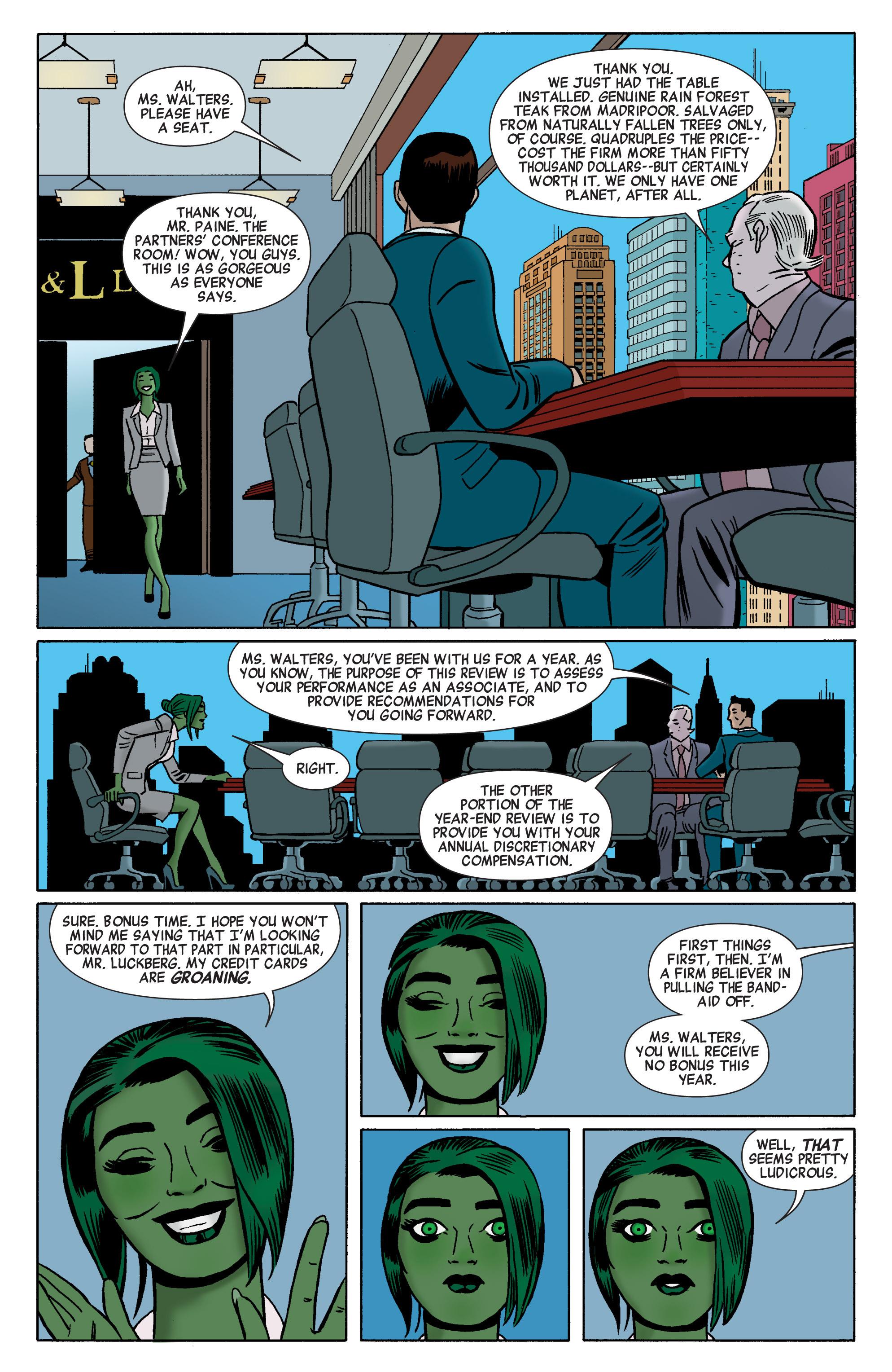 Read online She-Hulk (2014) comic -  Issue #1 - 5