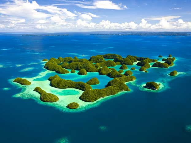 Living Paradise World Heritage Palau Rock Islands | Traveling Tour Guide