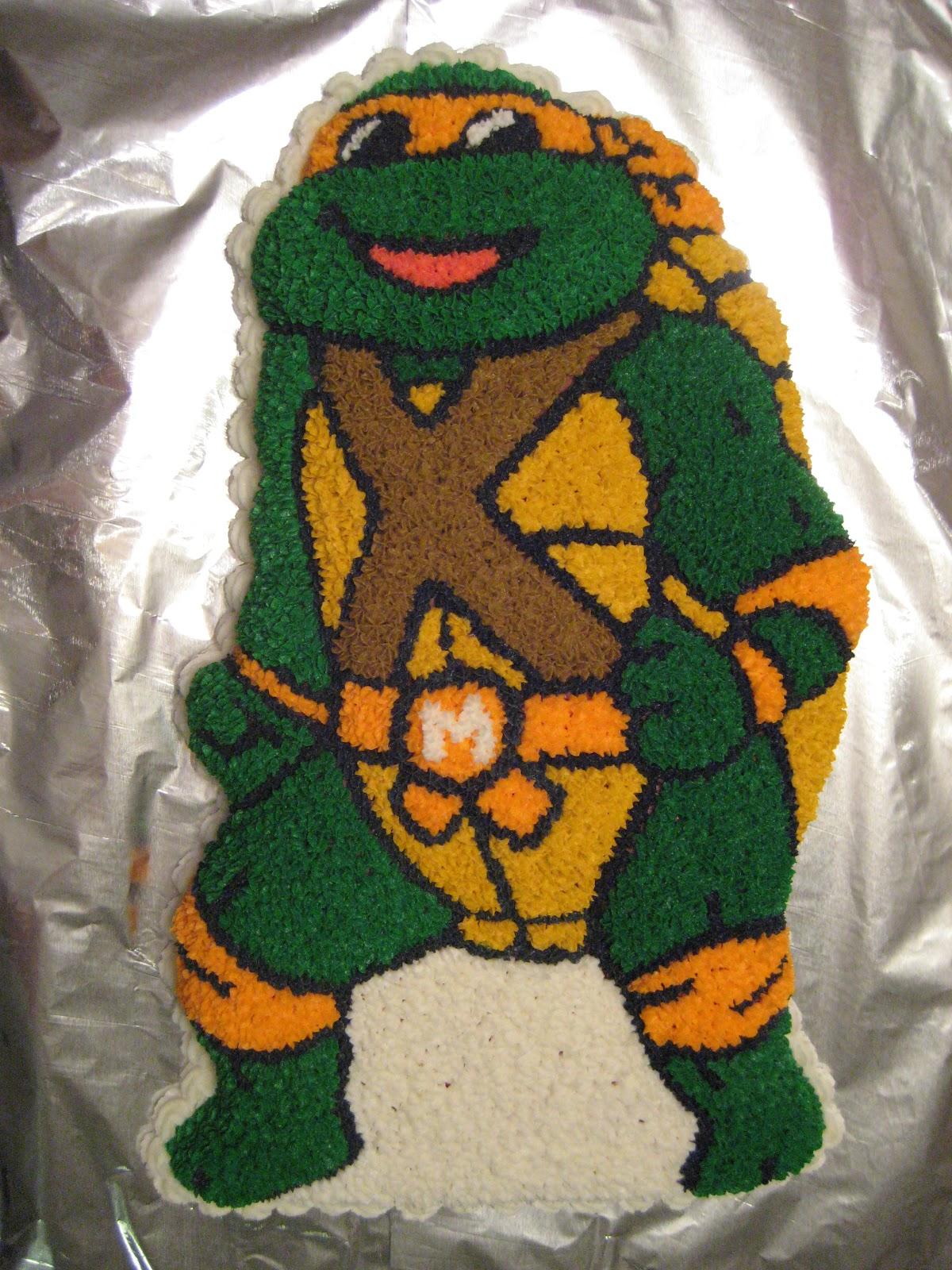 Cricket S Creations Teenage Mutant Ninja Turtle Cake
