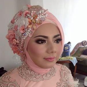 Kreasi Hijab Modern Untuk Kebaya