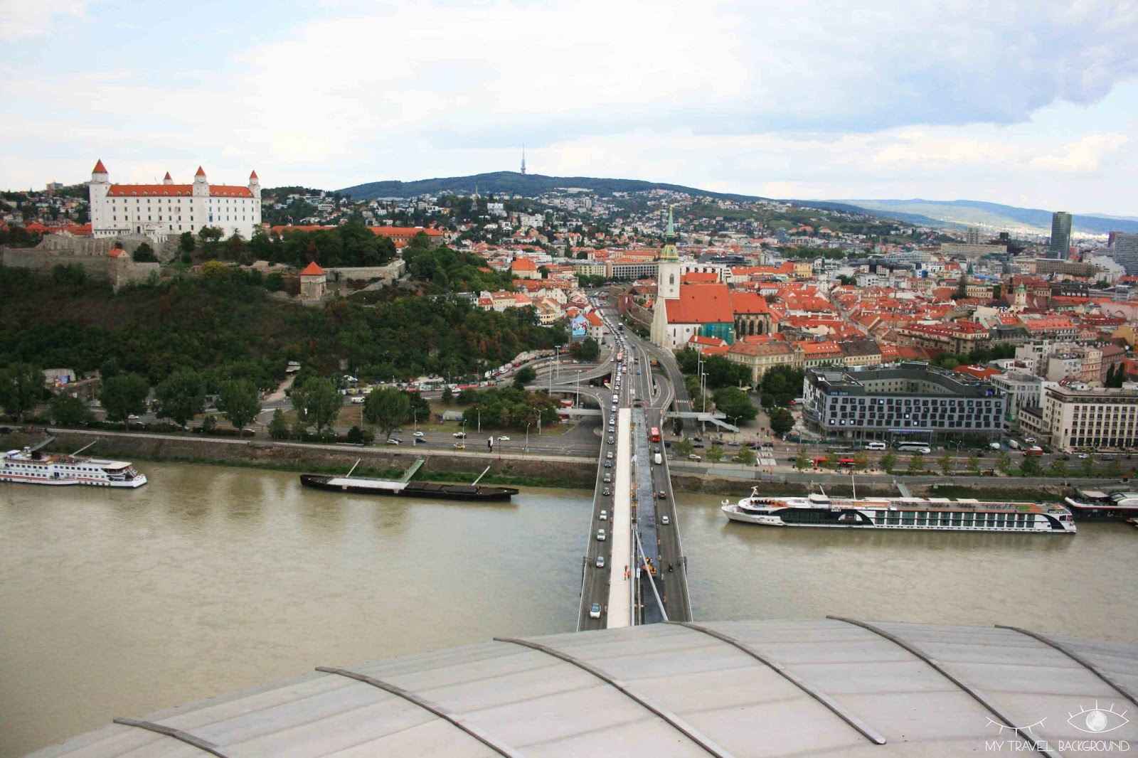 My Travel Background : cartes postales de Slovaquie - Bratislava