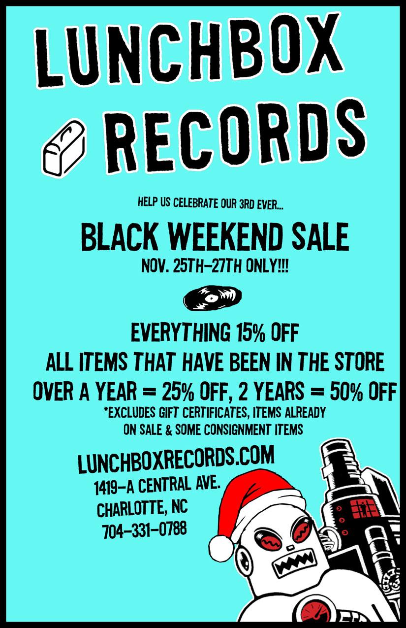 Lunchbox Records | Charlotte, NC: November 2011