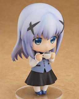 Nendoroid Chino Kafuu de Gochuumon wa Usagi Desu ka?? - Good Smile Company
