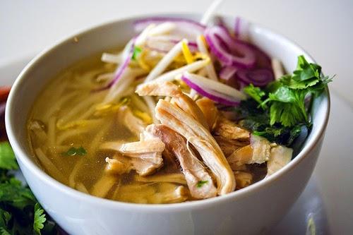 Pho ga (Vietnamese Chicken Pho recipe) - Vietnam Famous