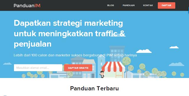 Blog PanduanIM.com - Blog Bloging Bisnis Online Internet Marketing Terbaik Di Indonesia