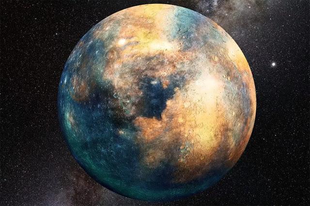 Planet 10 Planet Seukuran Mars Yang Berasal Dari Luar Tata Surya