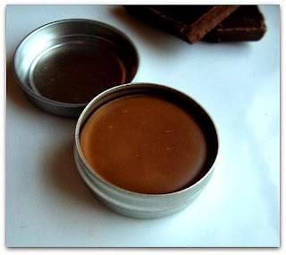 Mézes-csokis ajakápoló házilag