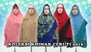 jilbab khimar syar'i murah bahan sifon ceruti terbaru dijual grosir
