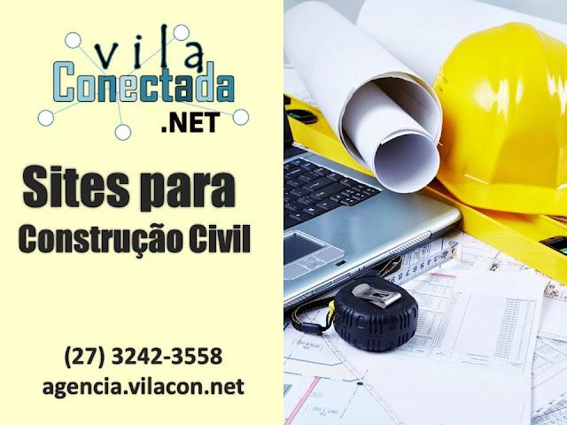 Site para Empresa do Setor da Construção Civil
