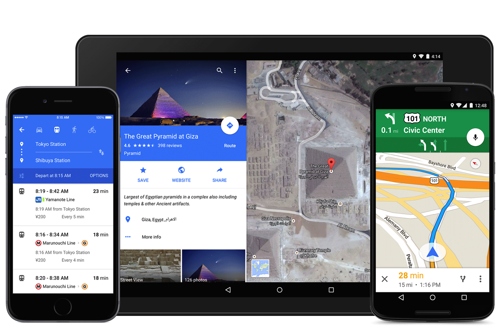 APK] Google Maps Gets a Major Material Design UI Update