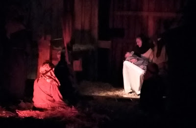 Live Nativity, the story of the birth of Christ