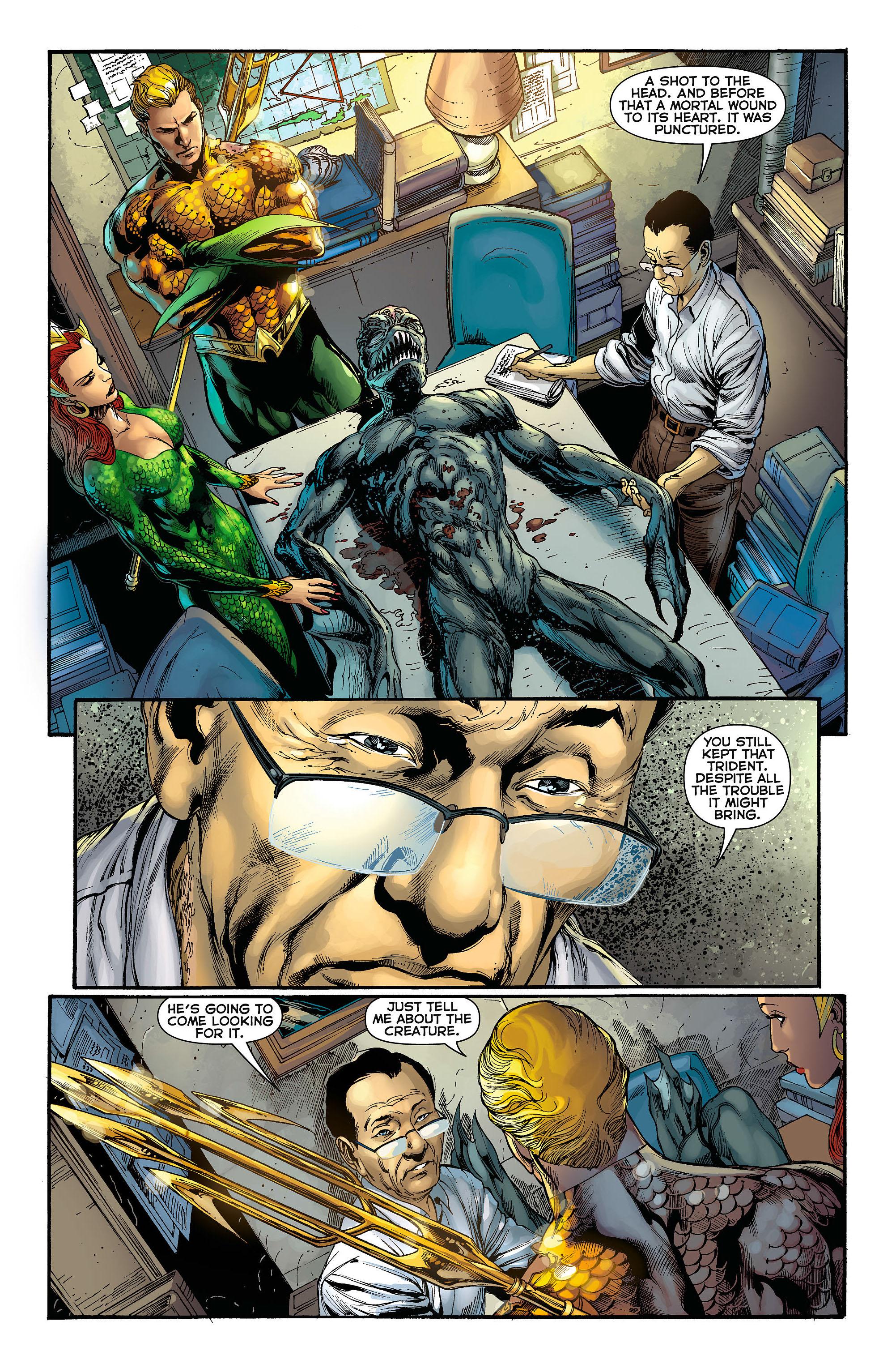 Read online Aquaman (2011) comic -  Issue #3 - 16