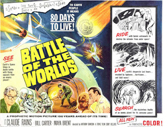 Poster - Battle of the Worlds (1961)