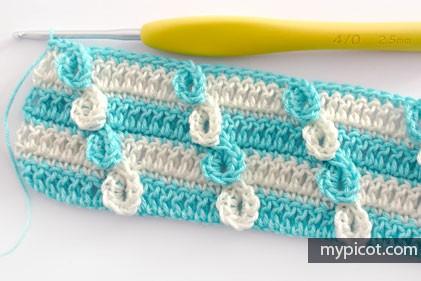 Punto Bucle a Crochet