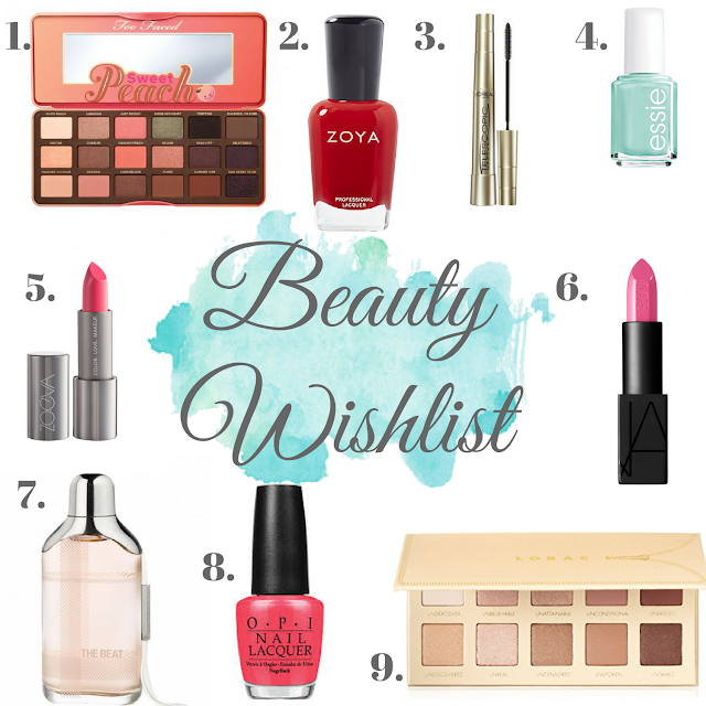 Beauty wishlist 2017